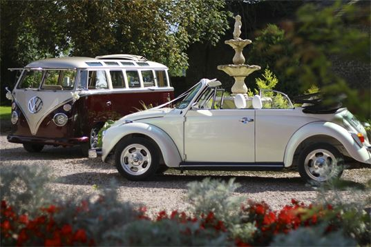 LoveDub Weddings are voted by the Public the best suppliers of VW Wedding Campers and Beetles in all of Wales. Providing the best vintage, classic and retro Wedding car's for hire exclusively for Weddings only throught Wales, Avon, Somerset, Gloucester, Monmouth and Hereford